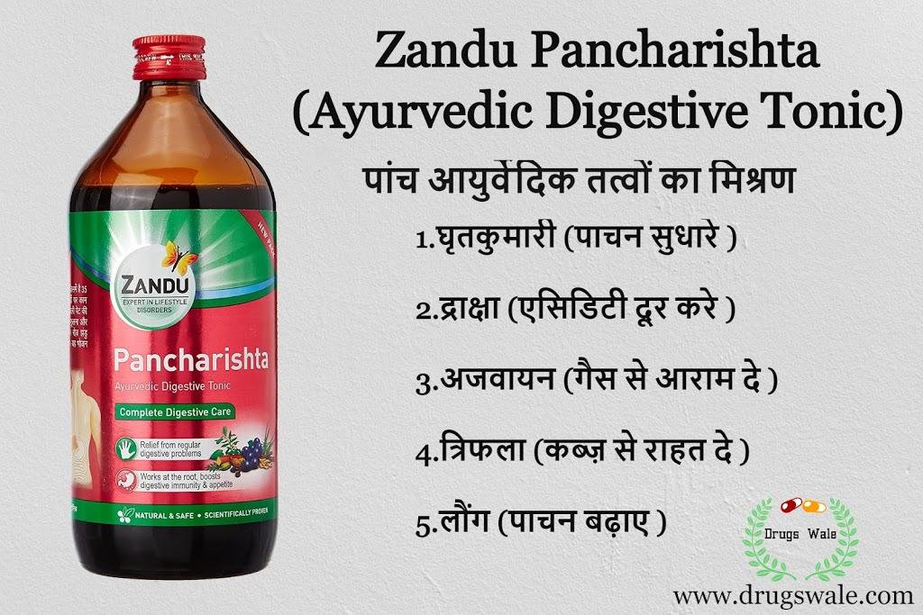 Zandu Pancharishta in Hindi