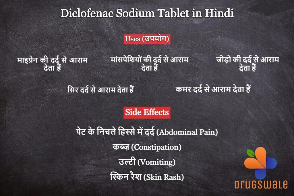 Diclofenac Sodium Tablet in Hindi